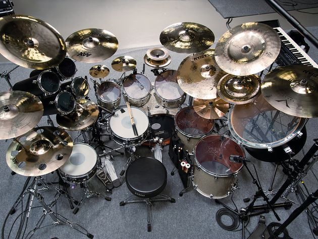 Le kit 2012 de Mike Portnoy en images