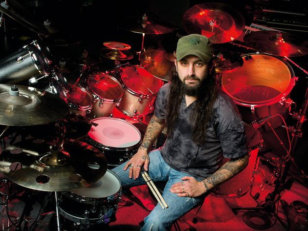 Mike Portnoy's 2012 drum setup in pictures