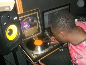 Me in my studio: Prince Rapid