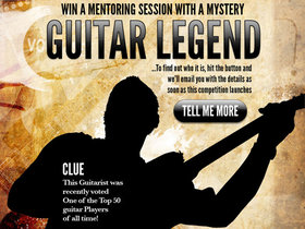 Mystery guitarist