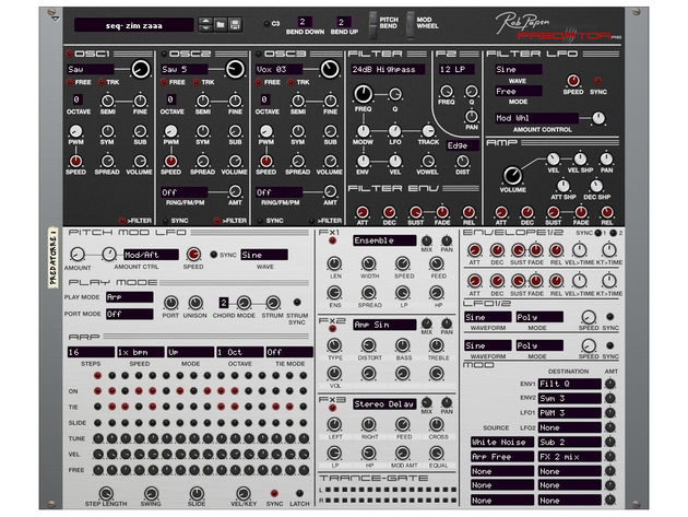 NEW! Rob Papen Predator RE