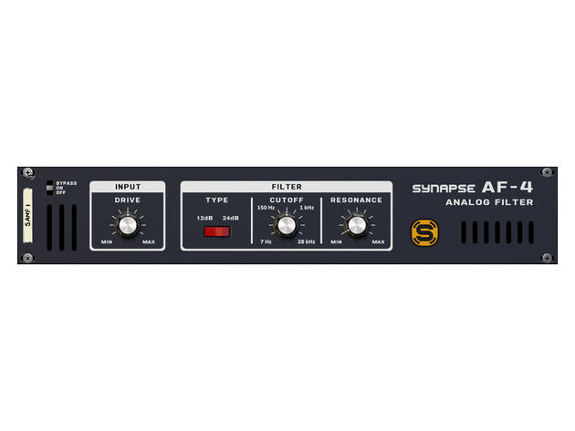 Synapse Audio AF-4 Analog Filter