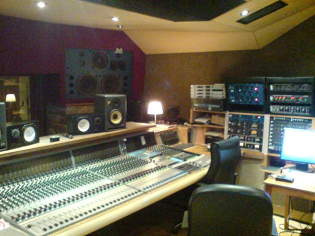 Rockfield Recording Studio