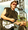 Onstage with Steppenwolf and his signature 381JK in 2004