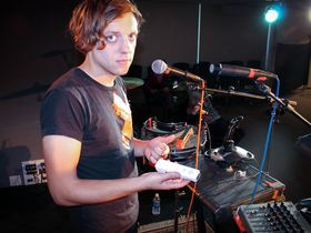 Robert DeLong's live setup in pictures