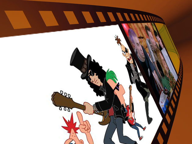 Slash – Phineas And Ferb: Across The 2nd Dimension (2011)