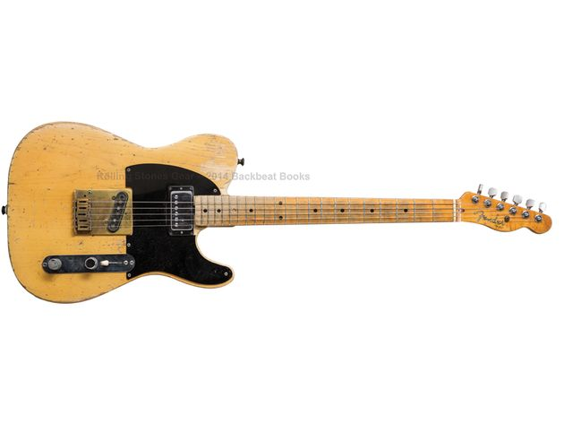 "Keith Richards: 1954 Fender Telecaster (nicknamed ""Micawber"")"