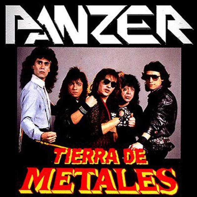 Panzer - Tierra De Metales