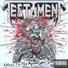 Testament went for a low-rent verson of Iron Maiden's 'Eddie.' Lame, guys, very lame