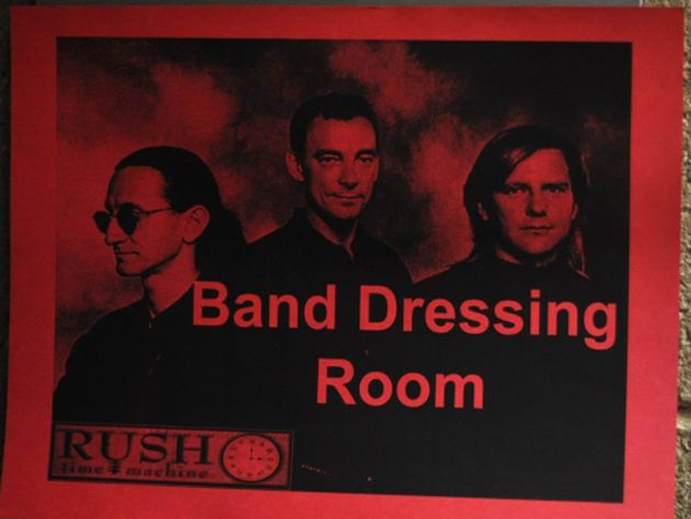 Band dressing room