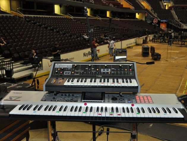 Geddy Lee's keyboards