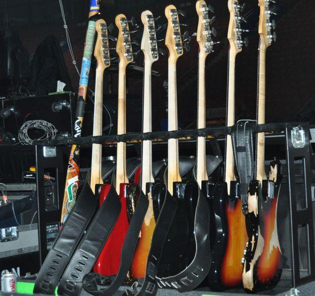 Geddy Lee's basses