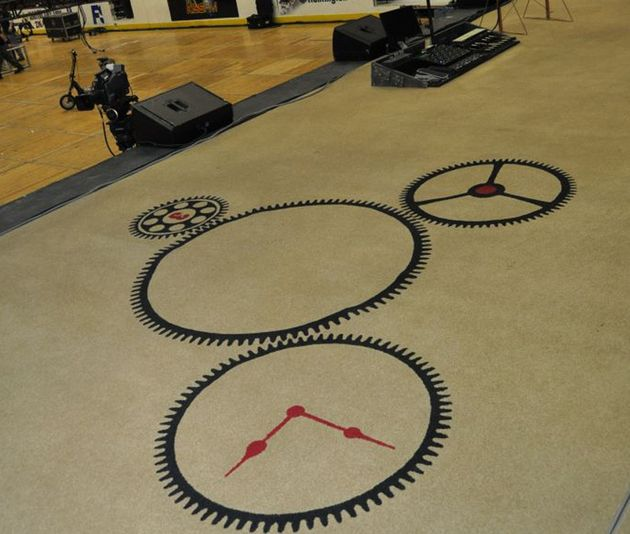 Rush's Time Machine carpet