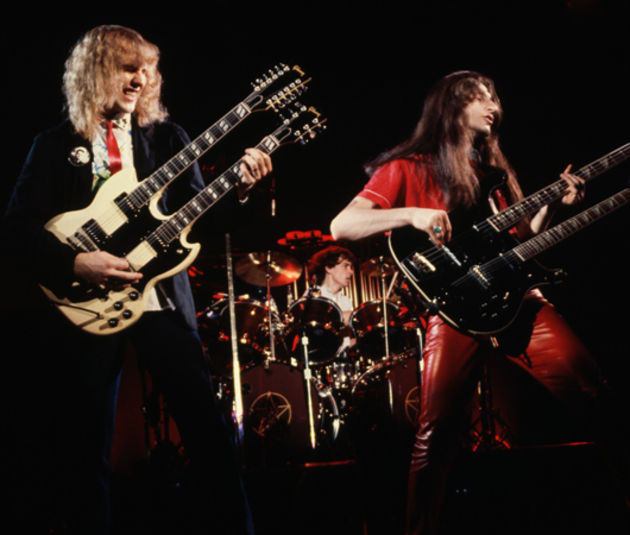 Neil Peart & Geddy Lee