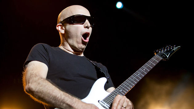 Satriani's new solo work, Unstoppable Momentum, will be followed by a world tour