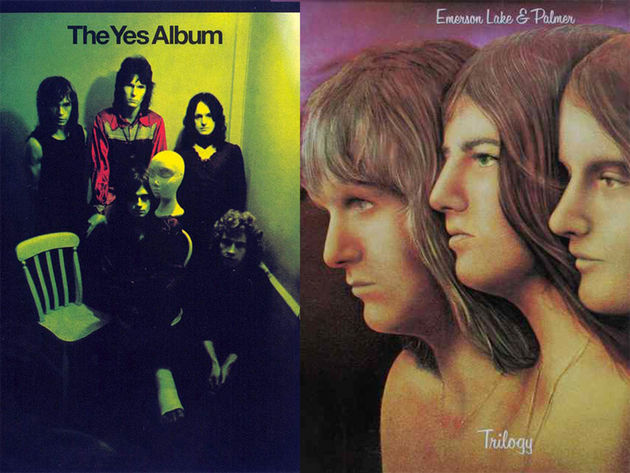 Yes – The Yes Album (1971)/Emerson, Lake & Palmer – Trilogy (1972)