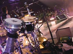 Shakira's drum setup in pictures