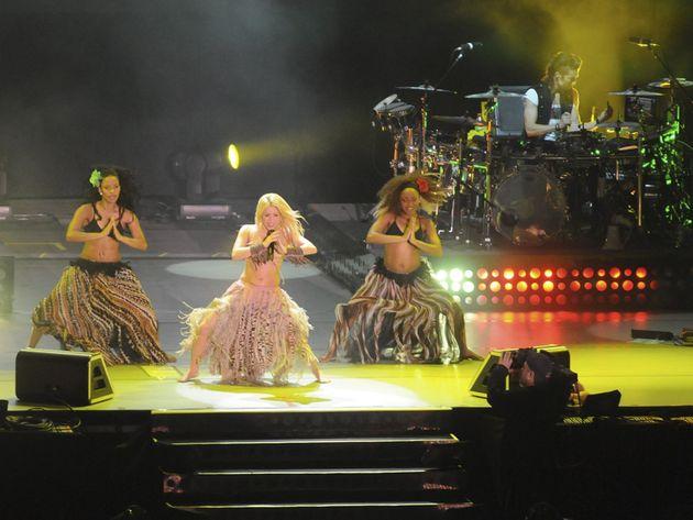 The Shakira gig