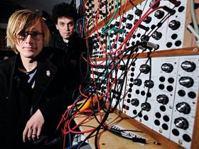 In pictures: Simian Mobile Disco's synth-loaded studio