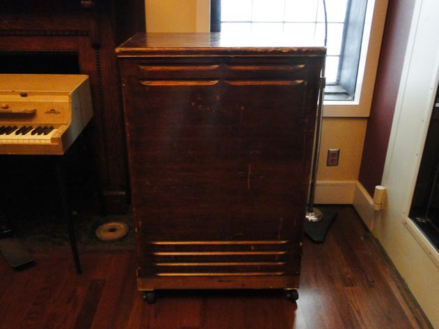 Piano Room - Leslie cabinet