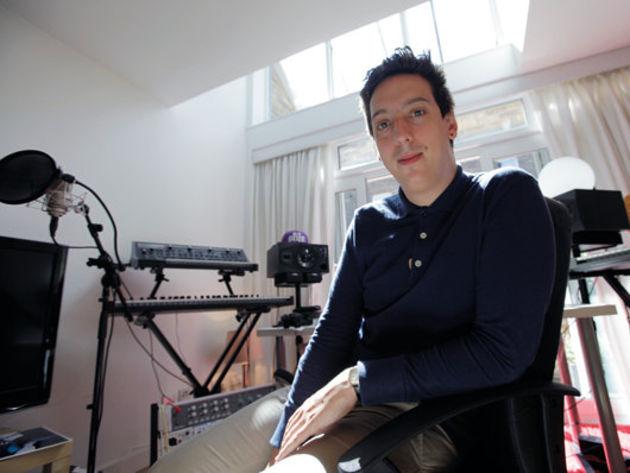 Starsmith's home studio