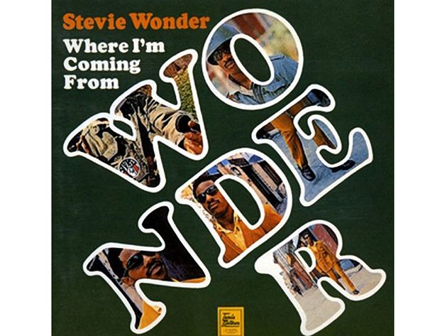 Stevie Wonder – Where I'm Coming From (1971)