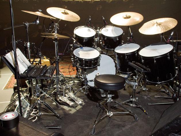 Steve Gadd's kit
