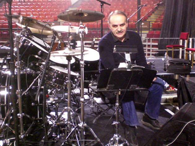 Q&A: Steve's drum tech of 14 years, Yard Gavrilovic