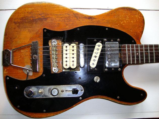 Steve Morse's Telecaster - body detail