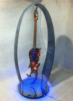Replicas of Steve Vai's Emerald Ultra Guitar now available