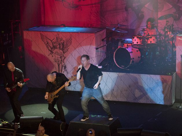 The Stone Sour gig