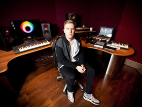 In pictures: Sub Focus's studio