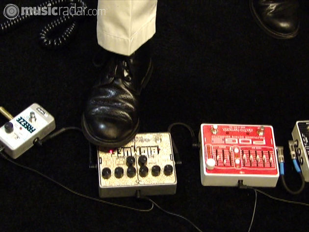 New EHX stompboxes in action from the show floor