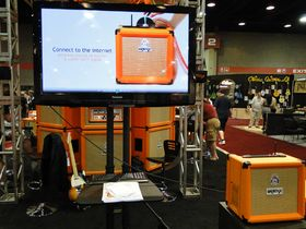Summer NAMM 2010: Orange Amplifiers stand in pictures