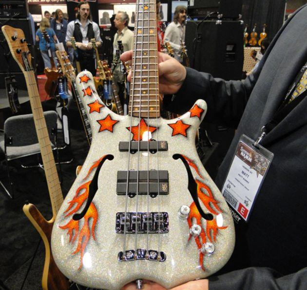 Bootsy Collins Orange Star Signature bass