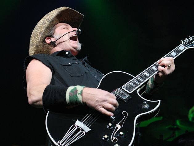 Ted Nugent picks the 11 greatest guitarists of all time