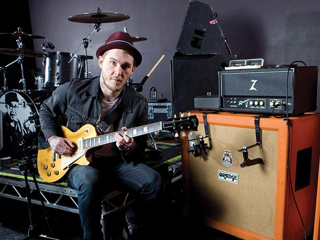 Live rigs revealed: The Gaslight Anthem's Brian Fallon