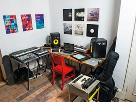 In pictures: Throwing Snow's studio