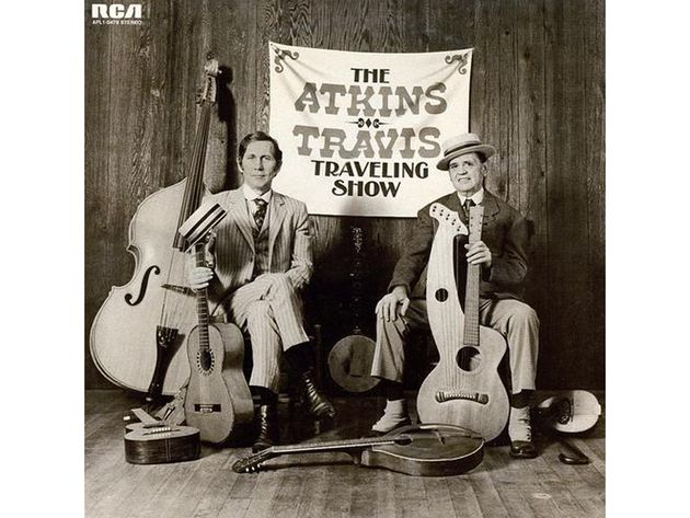 Chet Atkins/Merle Travis – The Atkins-Travis Traveling Show (1974)