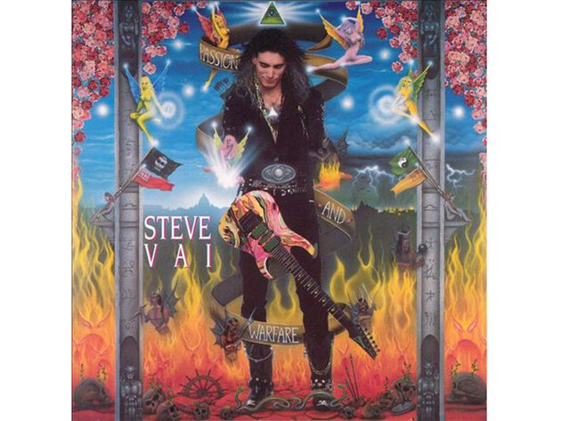 Steve Vai – Passion & Warfare (1990)