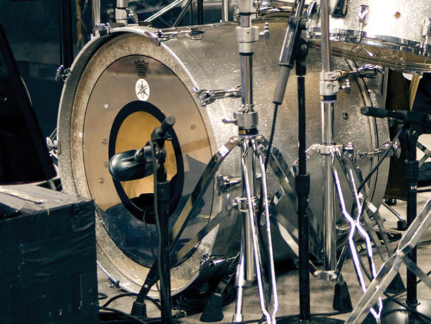 The 'Larry Bonham' kick drum