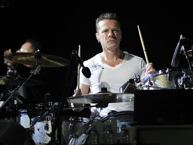Larry Mullen Jr's drum setup in pictures