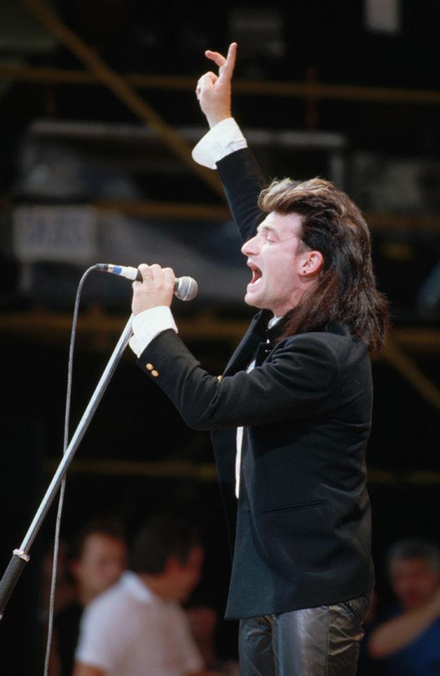 U2 at Live Aid