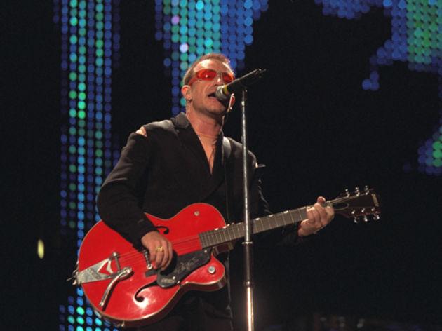 Bono goes Gretsch