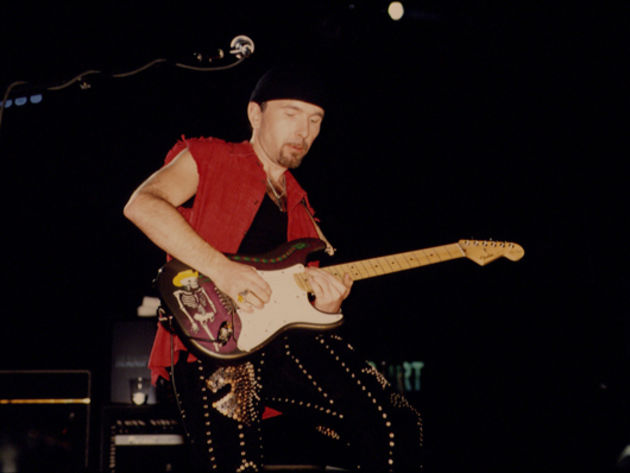 The Edge plays Clapton?