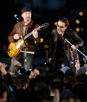 U2: 31 years in 31 pictures