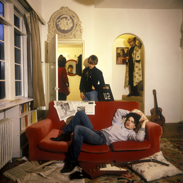 At home with U2