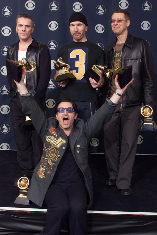 U2 grab the Grammys