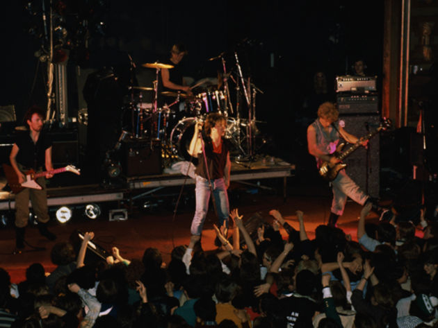 U2 live in 1982 at the Hammersmith Palais