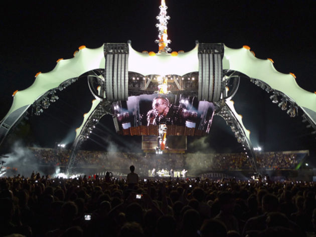 'The Claw' of U2's current 360 tour